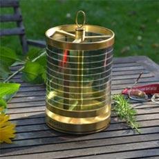 STOOL +SOL Tischleuchte kompakt, Messing