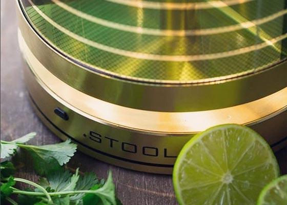 Solarleuchten von .STOOL – Nachhaltig mit zeitlosem Design | Steuerung per Smartphone-App.