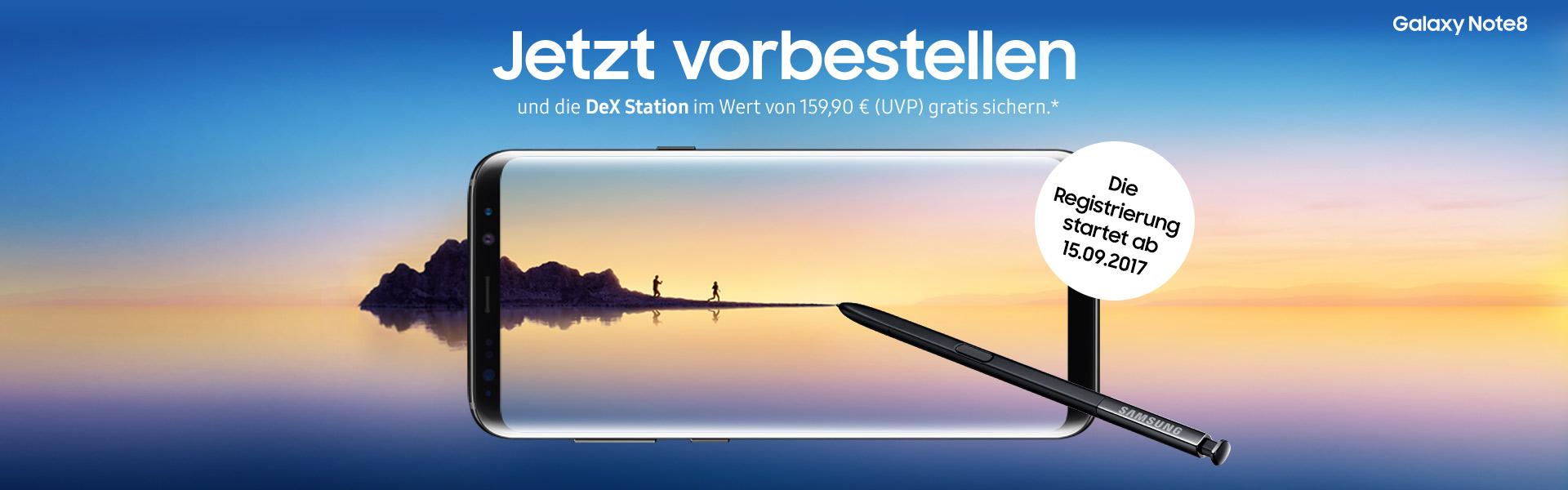 SAMSUNG Galaxy Note8 ohne Vertrag online kaufen | cw-mobile.de