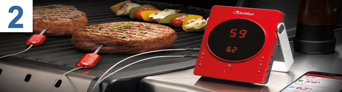 GrillEye Grill Thermometer Bluetooth