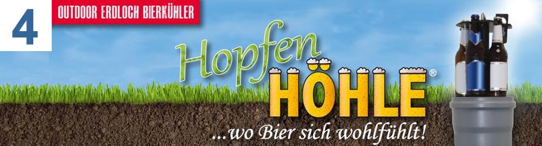 HopfenHöhle LIFT Outdoor Erdloch Bierkühler