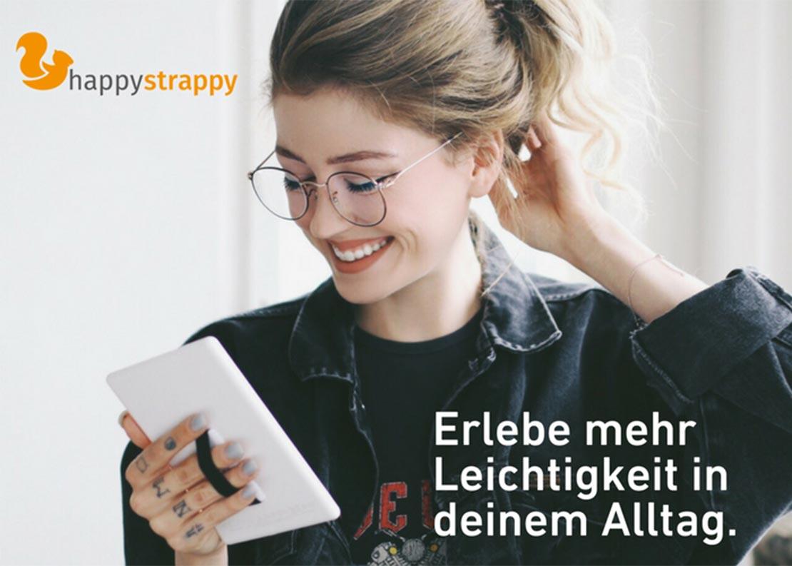 Happy Strappy Fingerhalterung   Jetzt bei cw-mobile.de kaufen