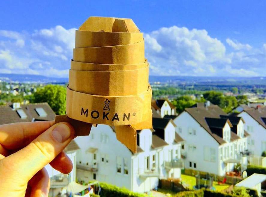 15 Stück MOKAN ökologische Grillanzünder mit dem Kamineffekt