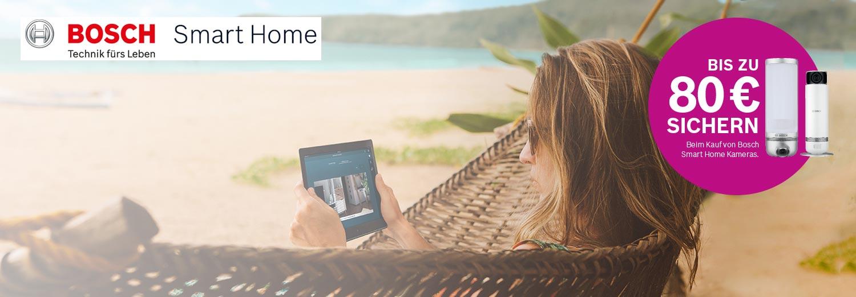 Bosch SmartHome | Geld-Zurück-Aktion beim Kauf der smarten Kameras