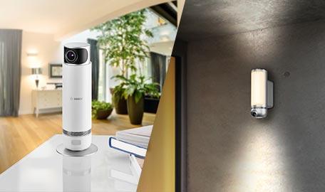 Bosch Smart Home bei cw-mobile.de | Sie genießen den Urlaub – die Kameras haben ein Auge auf Ihr Zuhause