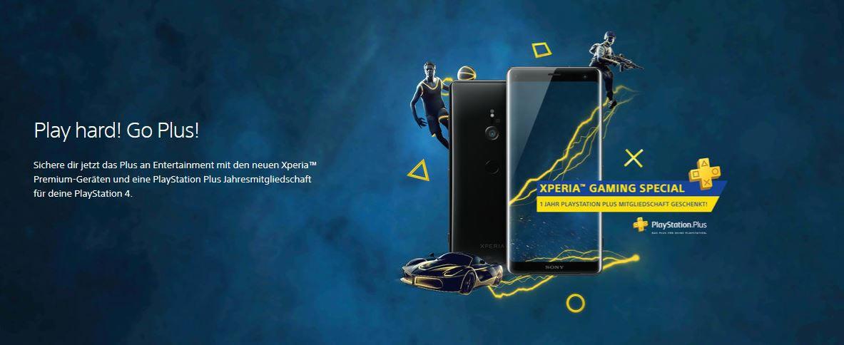 Jetzt das Xperia™ Gaming Special sichern!