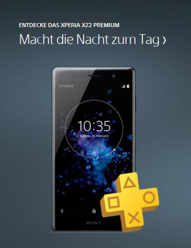 Das Sony Xperia XZ2 Premium - Nicht im Sortiment im Onlineshop von cw-mobile.de