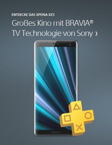 Sony Xperia XZ3 im Onlineshop von cw-mobile.de
