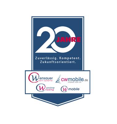 20 Jahre Jubiläum   cw-mobile.de
