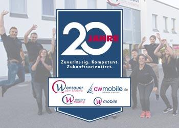 Wir feiern 20 Jahre! ★ 20 EURO Rabatt auf Ihren Einkauf