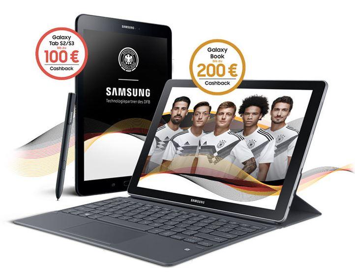Aktions-Tablet-PC von Samsung kaufen und Cashback erhalten!