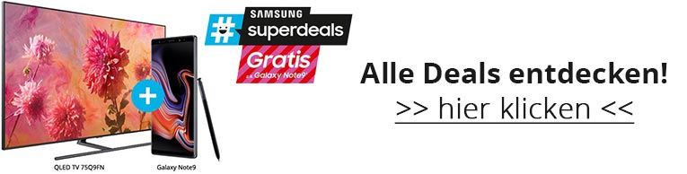 Samsung #superdeals vom 29.11. - 11.12.2018