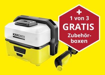 Jetzt einen Kärcher Mobile Outdoor Cleaner OC3 kaufen und eine Zubehörbox gratis erhalten