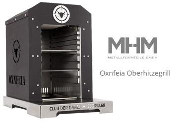 Perfekte Steaks mit dem Oxnfeia Oberhitzegrill