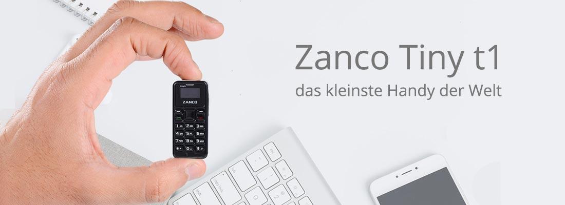 Das neue Zanco Tiny t1 Handy online kaufen