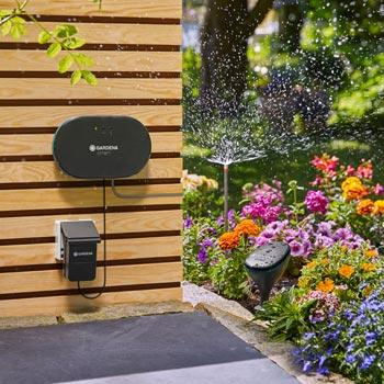 Smarte Mehrkanalsteuerung für bis zu sechs Gartenbereiche