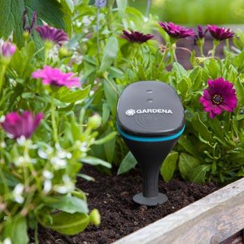 Echtzeit-Updates aus Ihrem Garten mit dem Gardena smart Sensor