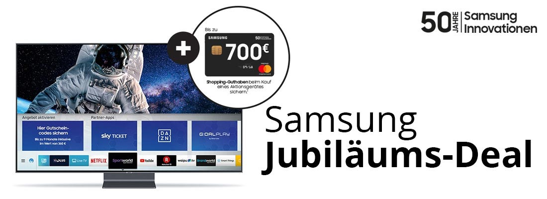 Samsung Jubiläums-Deal: mitfeiern und profitieren