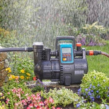 Smarte vollautomatische Wasserversorgung in Haus und Garten