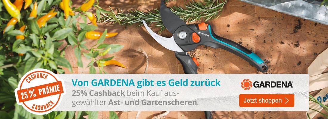 Gardena Aktions Ast- oder Gartenschere kaufen und Cashback sichern