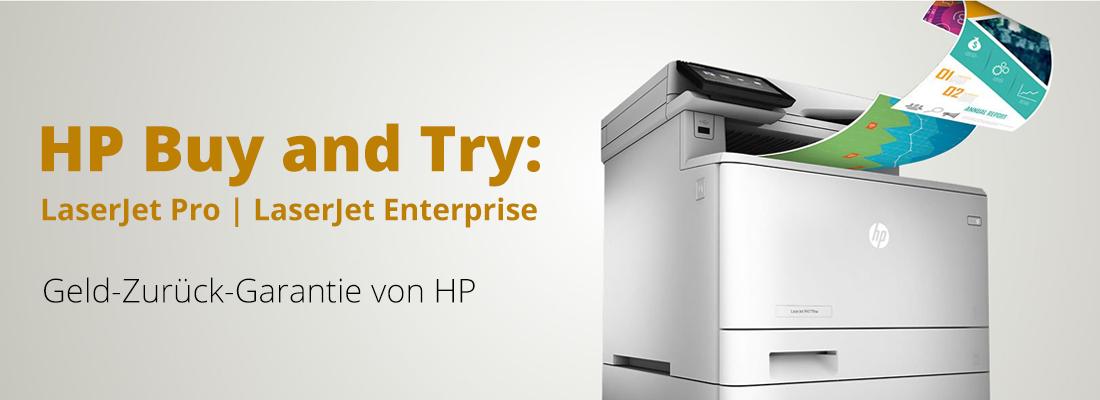 HP Buy and Try - Geld-Zurück-Garantie