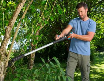 Die neuen SlimCut Astschere zum Auslichten von Bäumen und Sträucher