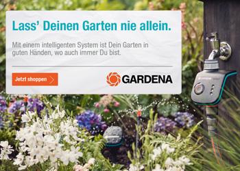 Erfahre jetzt mehr über Gardena smart system