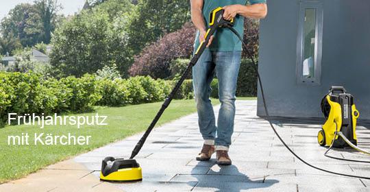 Kärcher Reinigungsgeräte für Haus und Garten kaufen