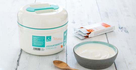 My.Yo Joghurtbereiter - Joghurt einfach selber machen