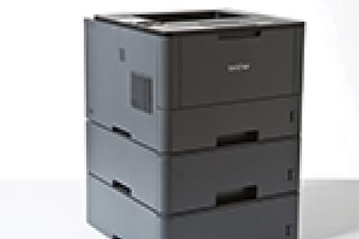 Brother HL-L5000D - erweiterbare Papierkassetten