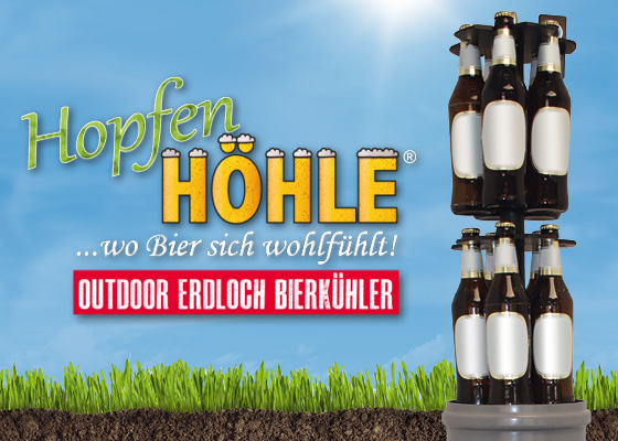 HopfenHöhle Erdloch Bierkühler