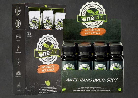 one:47 Anti-Hangover-Drink
